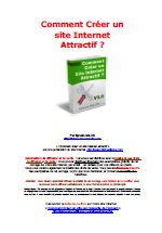 Comment creer un site internet attractif? - Guide marketing